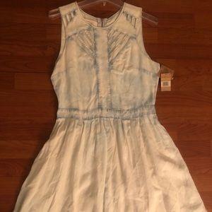 Lightweight denim dress